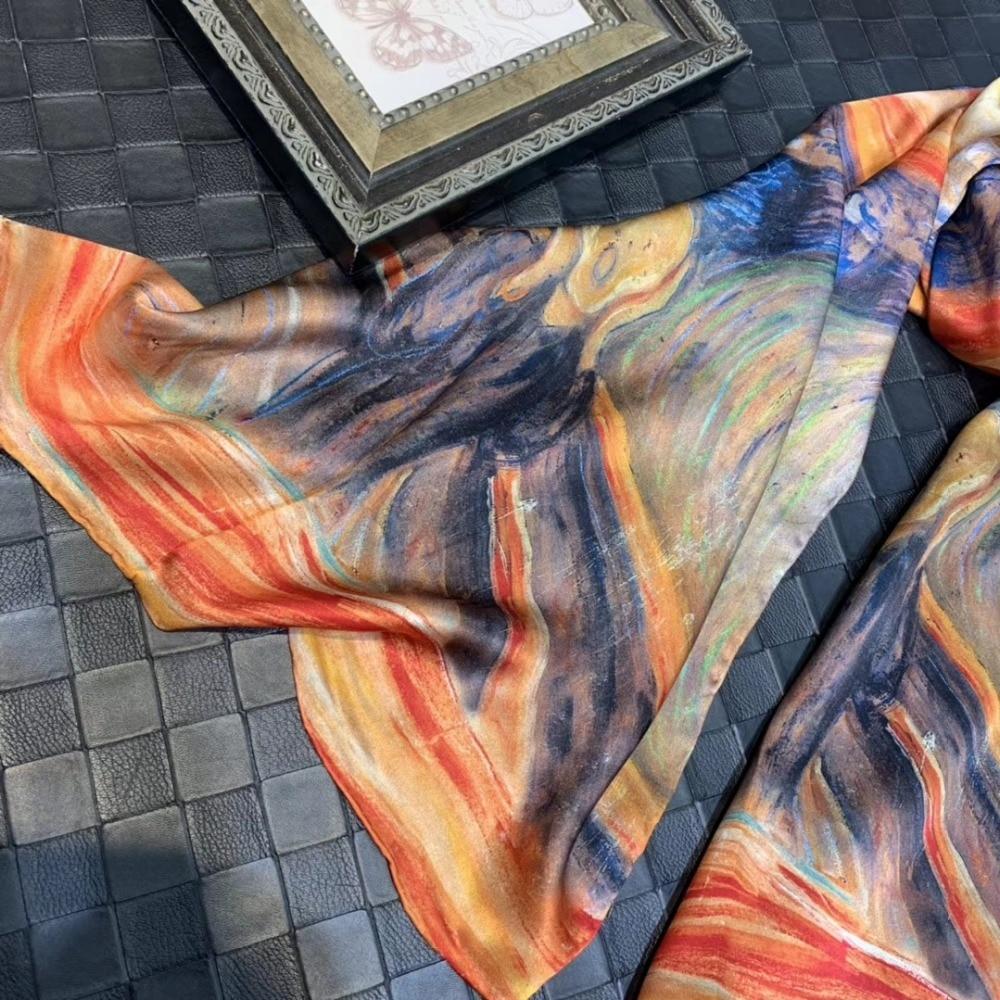 [Bysifa] novo estilo pintura a óleo senhoras