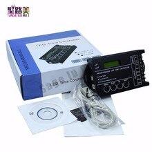 시간 프로그래밍 가능 RGB LED 컨트롤러 조광기 TC420 DC12V/24V 5 채널 총 출력 20A 공통 양극 프로그래밍 가능