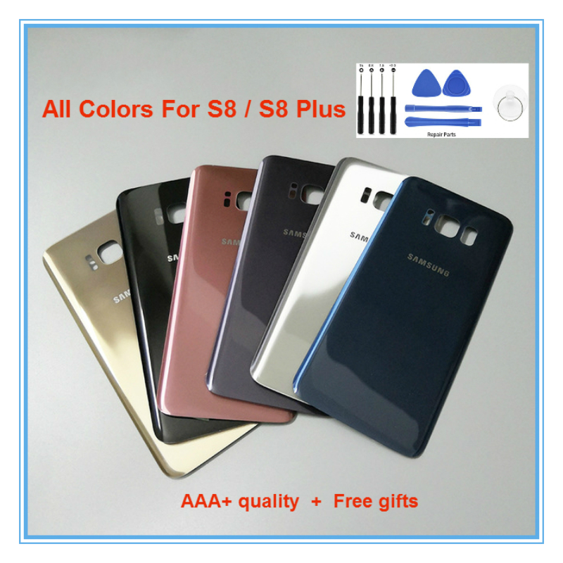 Back-Battery-Cover Replacement S8plus G955F Samsung S8 G950/s8 Original for /S8/Plus/.. title=