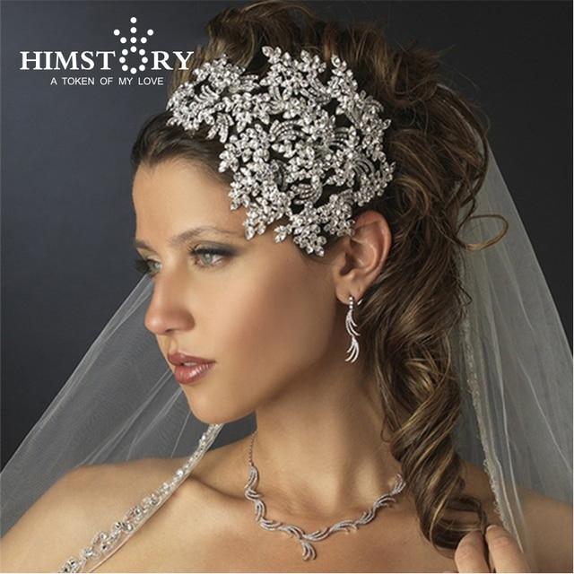Luxury Vintage Elegant Wedding Jewelry Bridal Tiara Wedding Headband