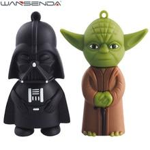 Star wars 128GB Yoda usb flash drive pen drive 4gb 8gb 16gb 32gb 64g Dark Darth Vader drive flash pendrive memory stick u disk