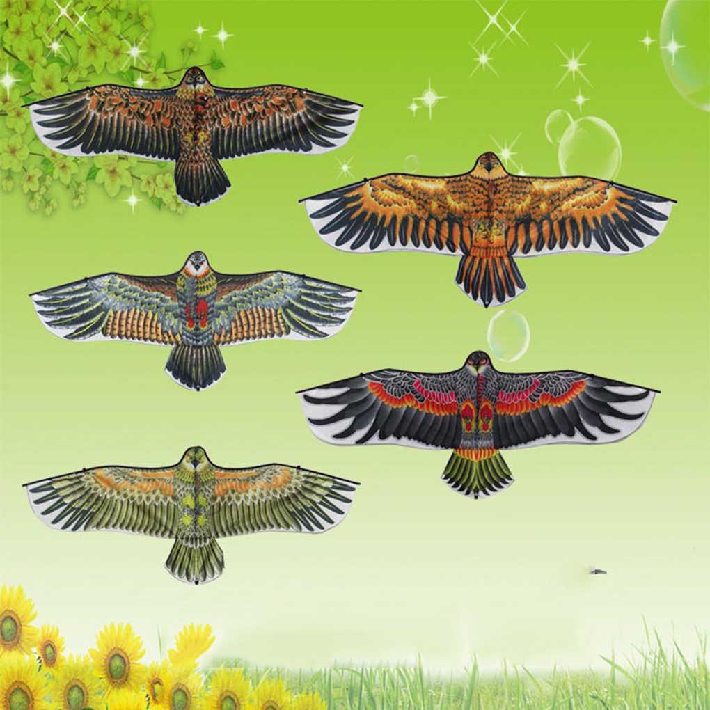 1pc新凧子供子供の漫画の動物凧 1.1 メートル動物凧 30 メートル飛んラインコードランダムな色