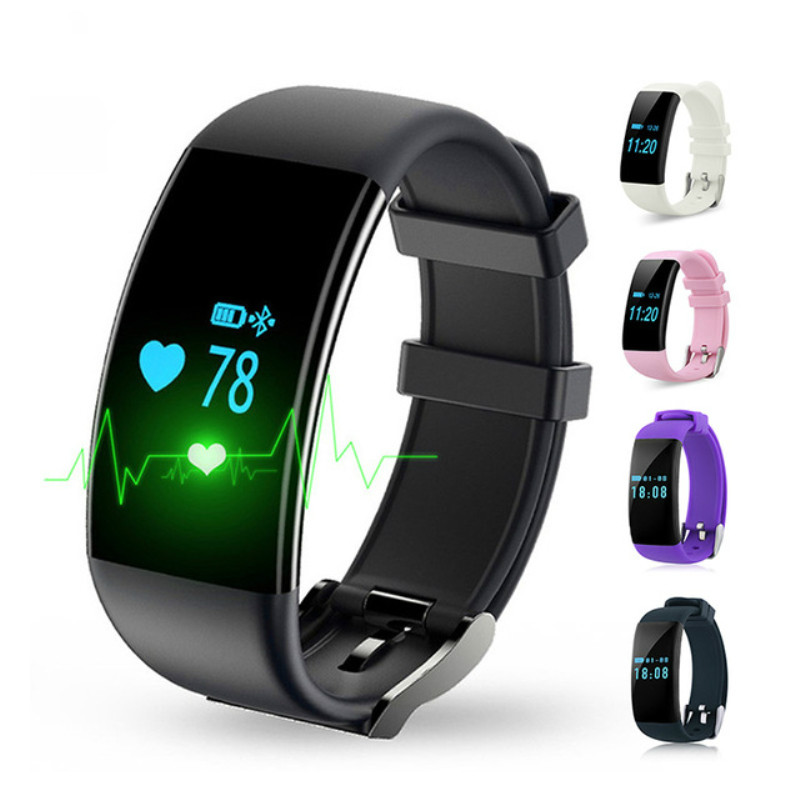 цена на DFit D21 Smart bracelet Heart Rate Monitor Smart Band Bracelet Fitness Tracker Sport Pedometer Wristband for Android iOS