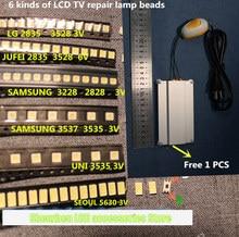 601PCS עבור תיקון LCD טלוויזיה LED חרוז PTC חימום צלחת כרית ריתוך נפוץ פלטפורמת אור LCD טלוויזיה LED 2835 3528 3537 3228 3535 5630