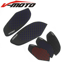For Yamaha R6 2008 2009 2010 11 12 13 14 15 Motorcycle Anti slip Tank Pad Side Gas Knee Grip Traction Pads Protector Sticker