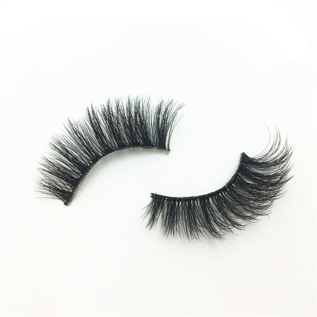 5Pairs New 3D Faux Mink Hair Soft False Eyelashes Fluffy Wispy Thick Lashes Handmade Soft Eye Makeup Extension Tools Wimpers 5