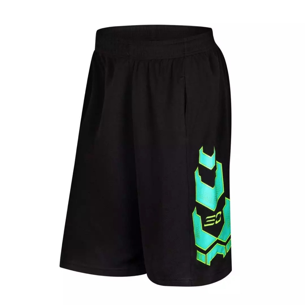 USA Curry Basketball Shorts Men Training Shorts Comfortable 100% Polyester Sport Shorts  ...