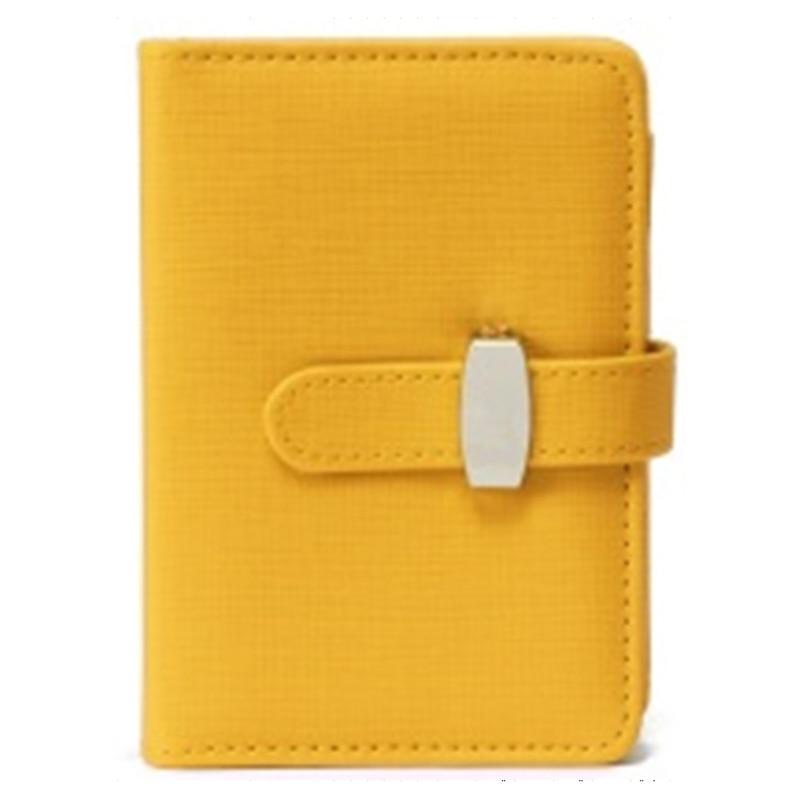 PU leather calendar agenda journals planner organizer, daily planner notebook, notebook cover, b5 diary(Yellow) notebook season b5 18k26
