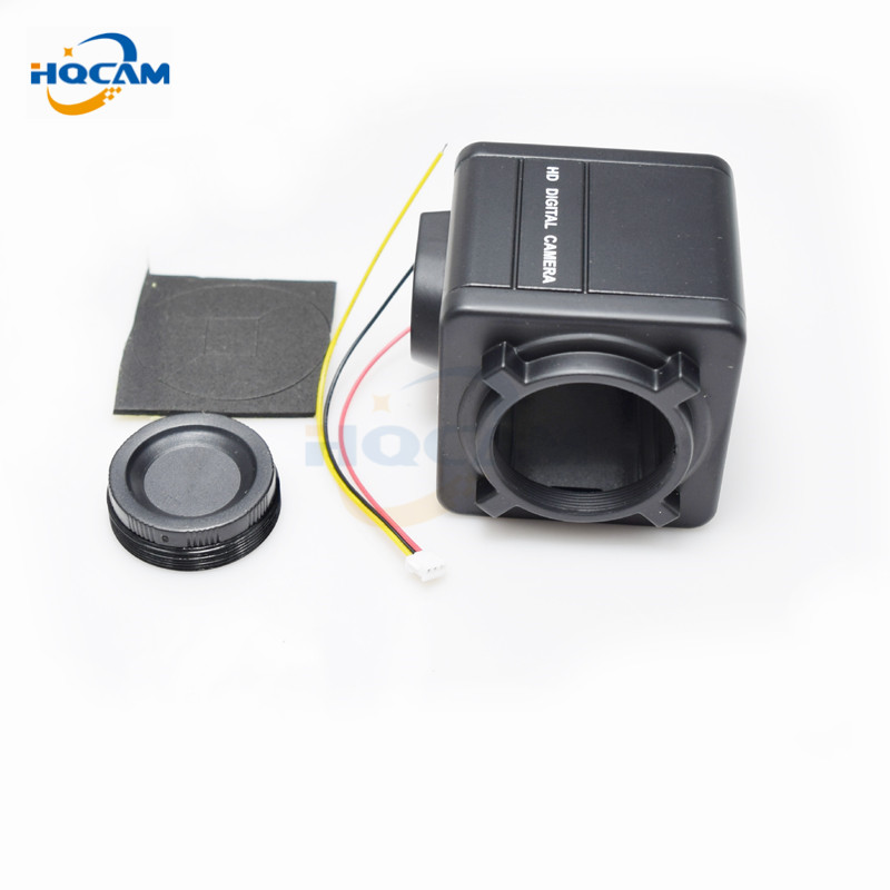 HQCAM Aluminum Cover Material Protective Security CCTV Camera Shell Housing metal gun camera shell