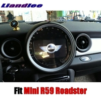 Liandlee Car Multimedia Player NAVI For Mini Roadster R59 2012~2017 Original Car Style With DVD Car Radio Stereo GPS Navigation