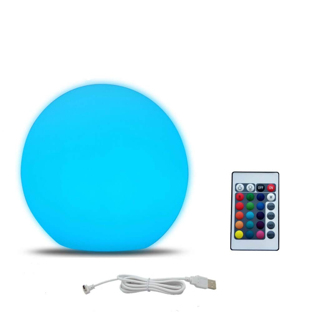 Home LED Ball Night Lights Rechargeable Portable Bedside Night Lamp Mood Light Table Lamp Colors Changing Perfect for Bedroom in LED Table Lamps from Lights Lighting