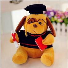 WYZHY  New Year Gift Graduation Dr. Dog Plush Toy Send a friend child 30CM