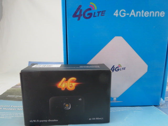 Huawei E5573 150Mbps 4G3G2G LTE WiFi HotSpot Any SIM+ 4G 35dbi indoor antenna