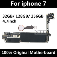 For iphone 7 motherboard original unlock phone motherboard with Touch ID motherboard for iPhone7 Logic board 32gb/128GB/256G