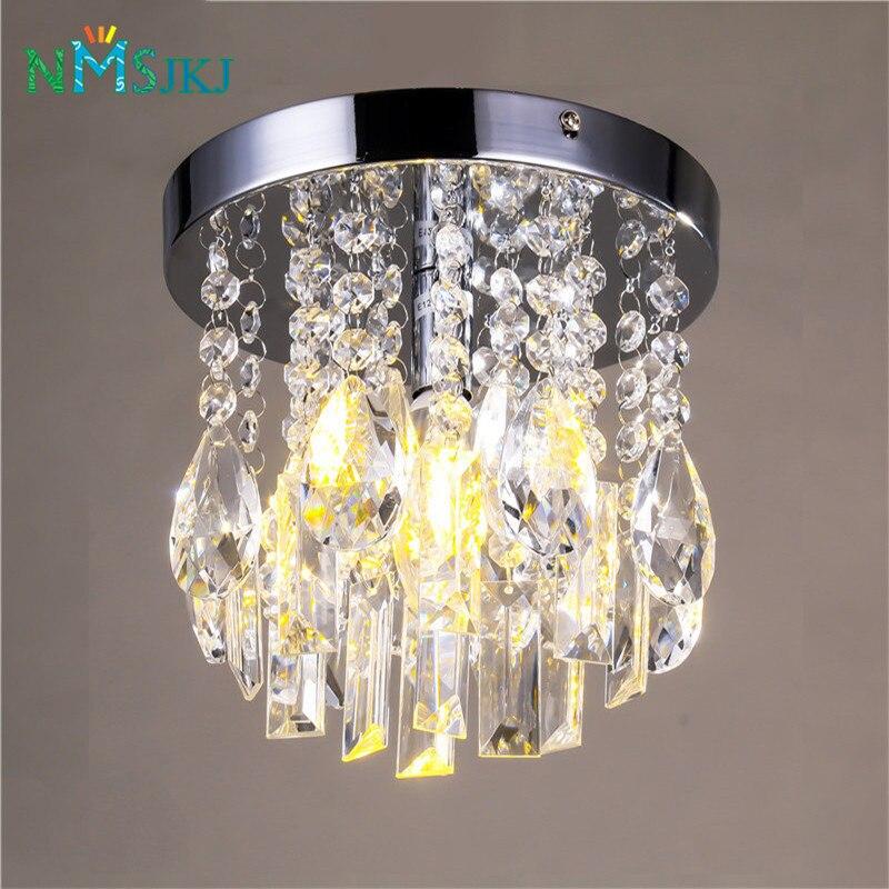 lampadari di cristallo contemporanea chrome lampada a soffitto apparecchio per la cucina ragazze camere camere da