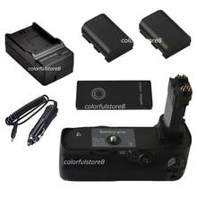 גריפ יד ידית כוח אנכי סוללה עבור canon eos 5d mark IV 4 5DIV 5D4 מצלמה כמו BG E20 BGE20 + IR מרחוק + 2 LP E6 + מטען לרכב