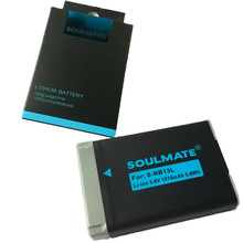 SOULMATE NB-13L lithium batteries pack NB13LDigital Camera Battery NB 13L for Canon PowerShot G5 X G5X Mark II G7X G9 X SX720