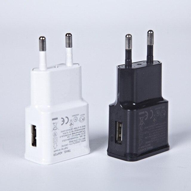 1 יחידות מתוקים האיחוד האירופי תקע מטען מתאם מטען קיר USB מטען לטלפון נייד עבור טלפונים iPhone אנדרואיד טבליות מטען נסיעות