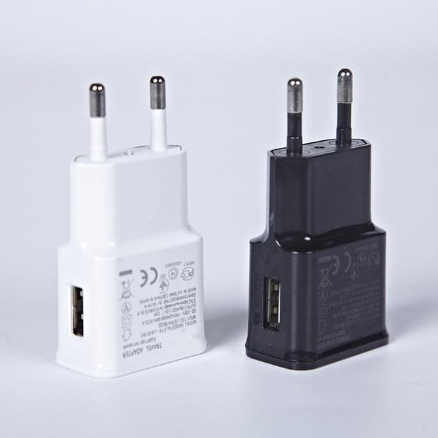1ピースeuプラグ充電アダプタusb壁充電器ポータブル携帯電話充電器のためのiphoneアンドロイド電話錠旅行充電器