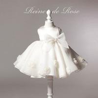 White Baby Baptsm Dress 0 24M Newborn Bebes Princess Dress 1 Years Birthday Party Dress Infant