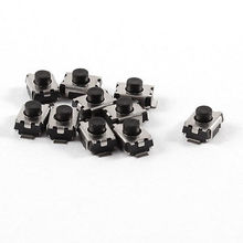 3x4x2.5mm 2-Pin Momentary Round Pushbutton PCB SMD SMT Tactile Switch(China)