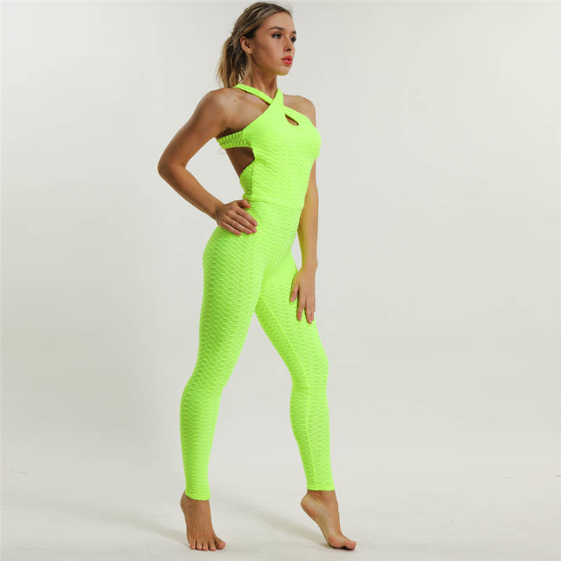 2018 Sexy Fitness Jumpsuit Full Bandage Sporting Bodysuit 8 Colors Sexy  Sleeveless One Piece Workout Suits For Women Fitness on Aliexpress.com  0eb6444d4262