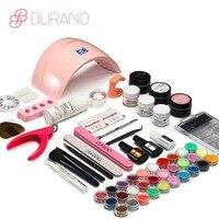 Burano UV/LED lampa Suszarka Do paznokci akryl nail art zestaw akrylowy nail kit zestaw z lampy paznokci narzędzia ustaw 011