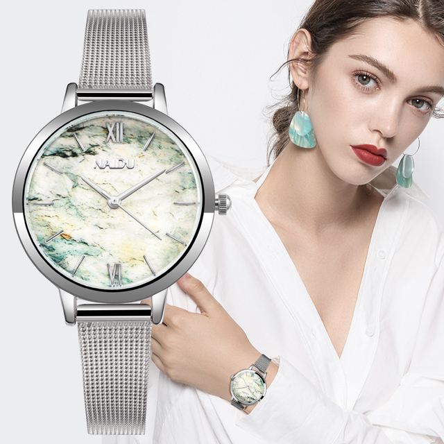 Stainless Steel Elegant Wrist Watches for Women
