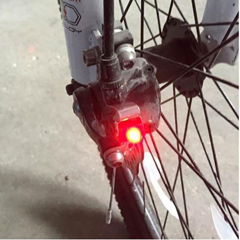 Waterproof Cycling Brake Bike Light Mount Tail Rear Bicycle Light LED High Brightness Red LED lamp Cycling Accessories #H915