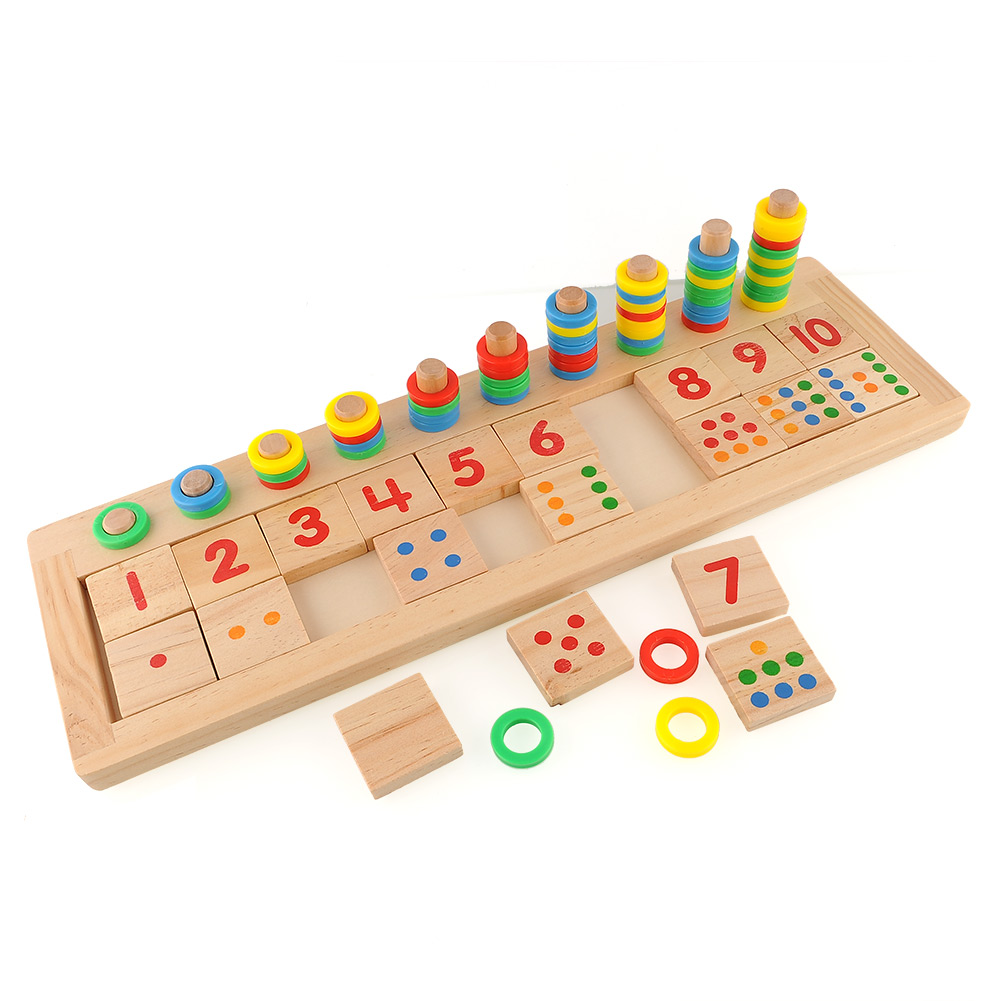 Educational Toys Brands : Brand new colourful montessori teaching math mathematics