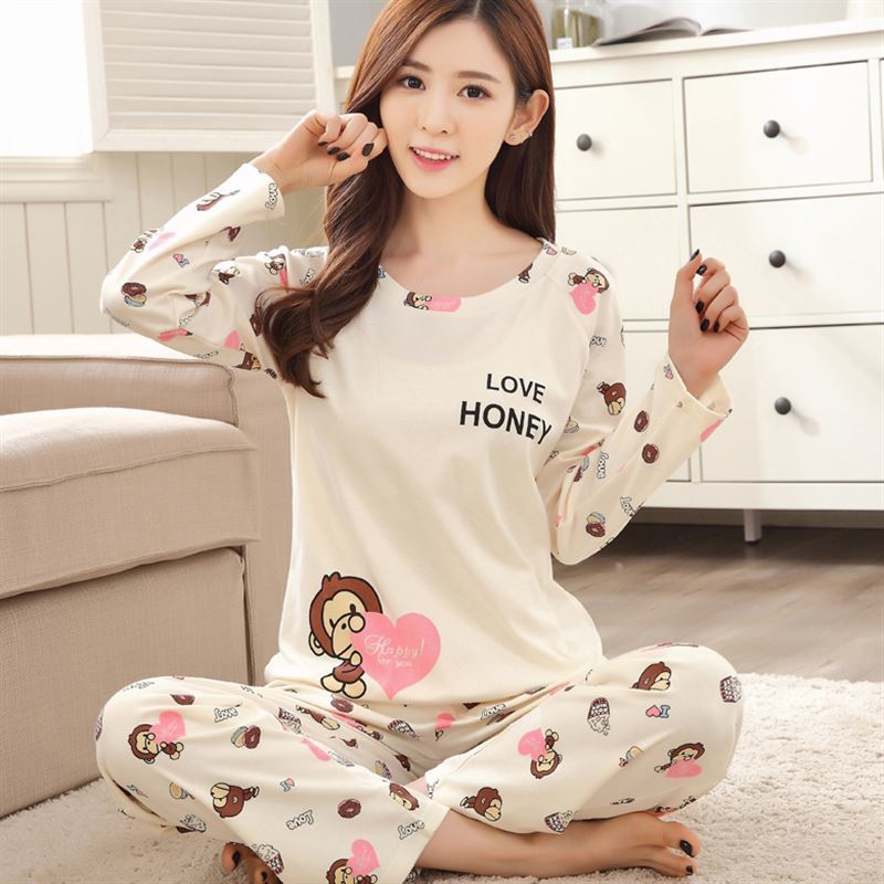 many fashionable unequal in performance better New Style WAVMIT Women Pajamas Sets 2018 Spring Design ...