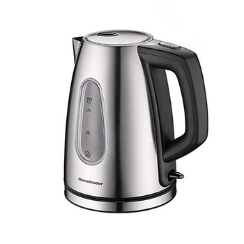 Homeleader Electric Kettle Fast Boiling Glass Tea Kettle Cordless Electric Glass Kettle with Blue LED Lighting Auto Shut-Off kettle