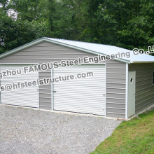 Сборный стальной гараж для парковки автомобилей