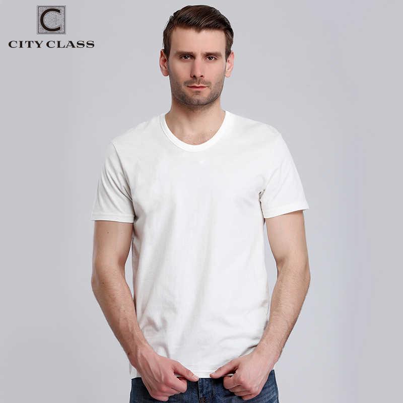 City Class мужские летние футболка брендовая одежда хлопковая удобная мужская футболка с коротким рукавом 2 штука каждый пакет Harajuku 7546