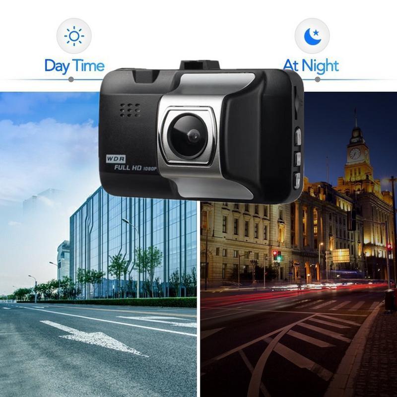 Image 2 - Dash Cam Car 1080P Inch HD Car Camera Driving Recorder 140 Wide Angle Car DVR Vehicle Dash Camera G Sensor