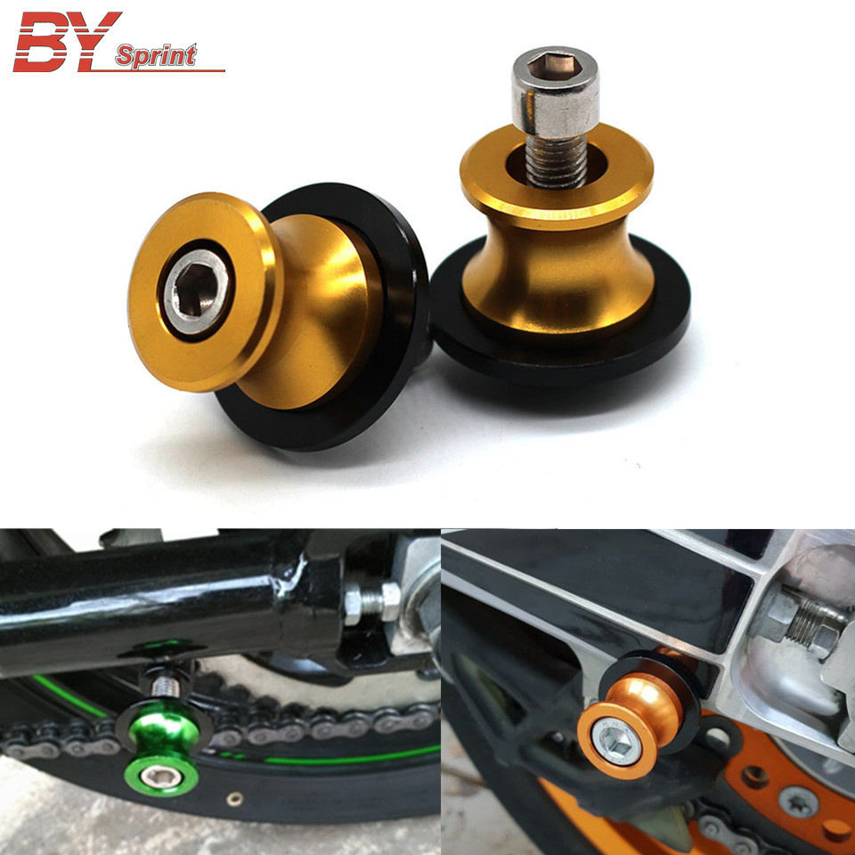 Motorcycle CNC Accessories Swingarm Spools Sliders Stand Screws For Yamaha MT07 MT 10 YZF R3 YZF