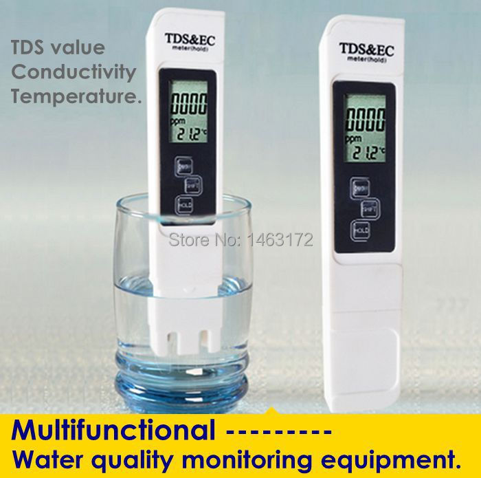 Aquarium Conductivity Meter : Tds pen conductivity monitoring water quality testing