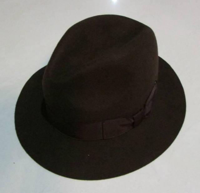 8d5c0ad889a 2018 Crushhat 100% Wool From Australian Fedora Fashion Unisex Black Homburg  Panama Jazz Hat Men