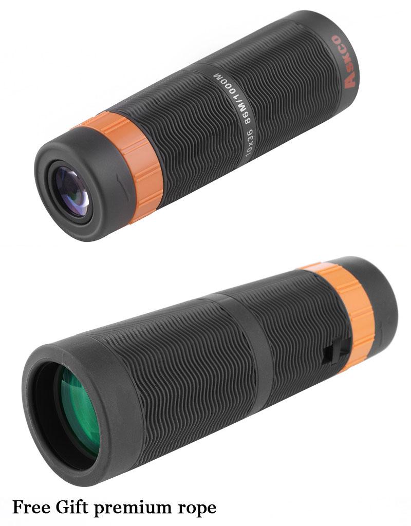10X36 Hohe HD BAK4 Wasserdichte Telefon Monokulare Zoom Teleskop ...