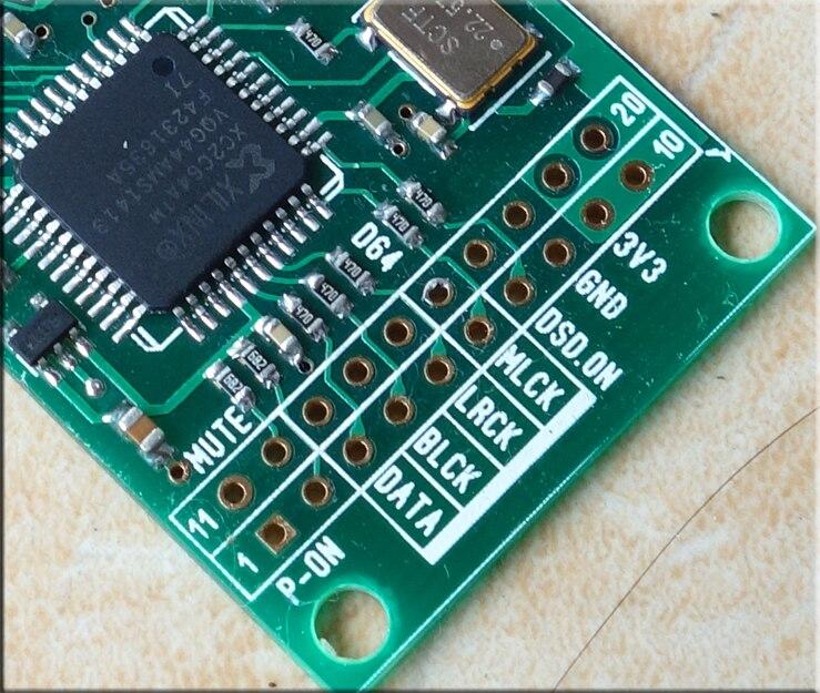 HIFI Combo384 USB à I2S Interface numérique se référer à Amanero usb iis Support DSD512, 32Bit/384 K-in Numérique-Analogique Convertisseur from Electronique    3