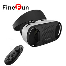 FineFun Virtual Reality 3D VR Glasses Helmet for 4.7~6″ Android Smartphone Android Virtual Video Glasses #F1101