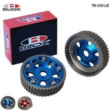 Blox 2Pcs Adjustable Cam Gears Pulley Timing Gear For Toyota Supra 1JZ TE TK-CG1JZ