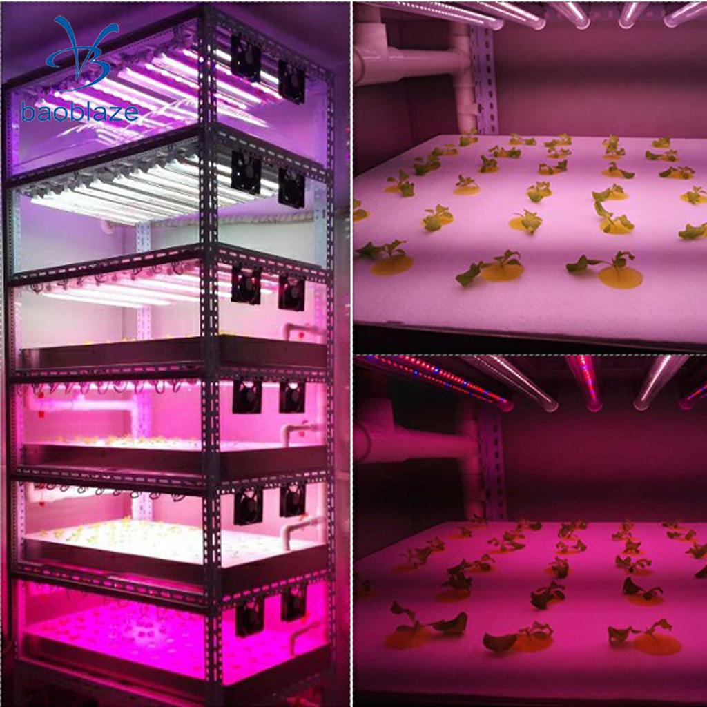 30W Led Grow Light Full Spectrum Plant Lights for Hydroponics System and Greenhouse Indoor Vegetable Flower Bloom Plant-US Plug