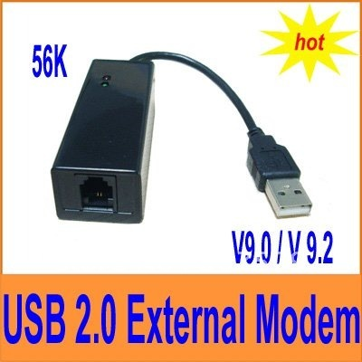 USB 56K V.92 V.90 External Dial Up Voice Fax Data Modem CA11