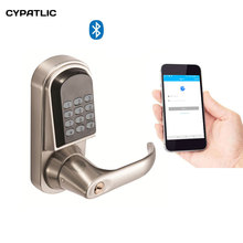 CYPATLIC Electronic Bluetooth Cadeado Smart Pin Code Digital Door Lock Keyless Password Lock For Hotel and Apartment high security electronic rfid keyless door lock hotel lock for apartment office