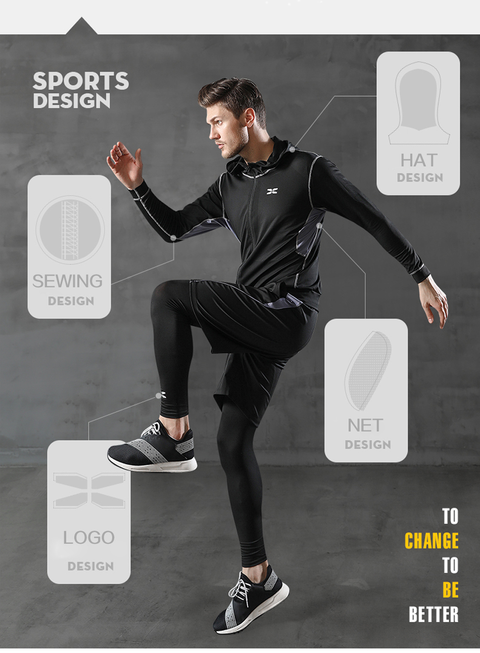 HTB1RQPDaQ9E3KVjSZFGq6A19XXai WorthWhile 5 Pcs/Set Men's Tracksuit Compression Sports Wear for Men Gym Fitness Clothes Running Jogging Suits Exercise Workout