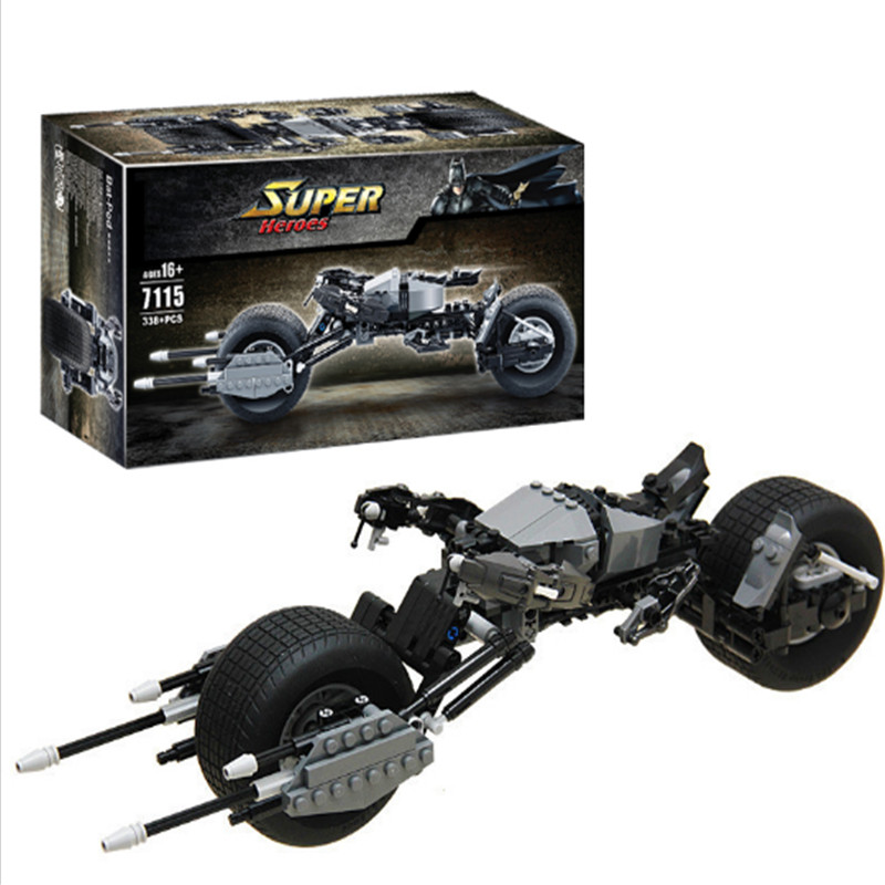 Decool 7115 Super Heroes Batman Bat-Pod Motorcycle bricks blocks Gift Toys children Lepin technic Bela 5004590 - Classic Blocks-SQ Co.,Ltd Store store