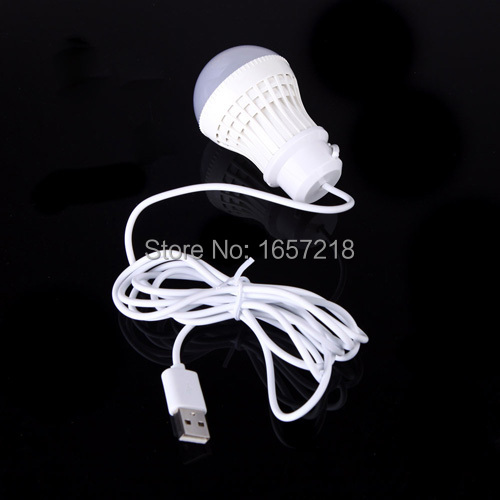 2015 new 5V 15W Mobile LED Bulb Lamp Light with USB Interface Lighting Bulbs Tubes Energy Saving 360 Degree High Brightness