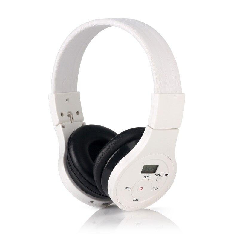 Radio stéréo portative d'écouteur de Modulation de radiofréquence de FM avec le récepteur de musique de Bluetooth de batterie Rechargeable