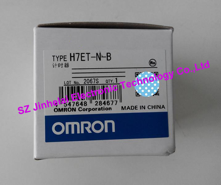 100%New and original  H7ET-N-B, H7ET-N  OMRON [zob] new original omron omron beam photoelectric switch e3jk tr12 c 2m 2pcs lot